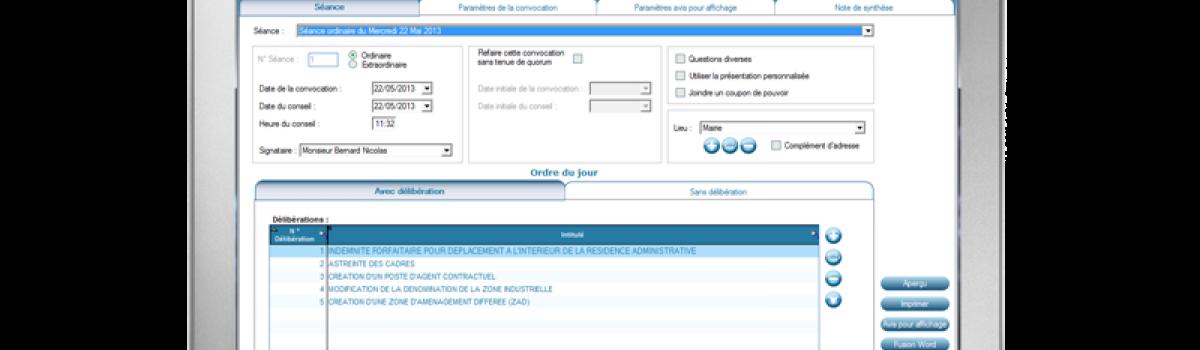 Registre des délibérations - Image