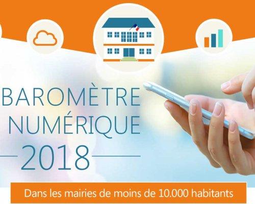 Baromètre du Numérique 2018 : Les outils collaboratifs se développent peu à peu !
