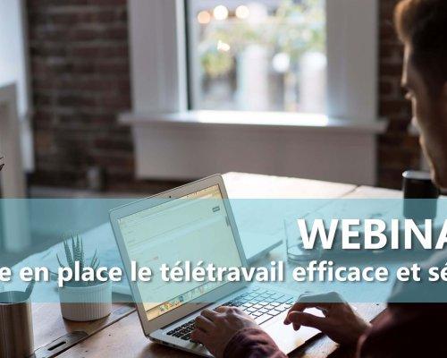 WEBINAIRE [Replay] : Les outils indispensables pour télétravailler dans les collectivités