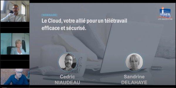 Le Cloud, votre allié pour un télétravail efficace et sécurisé