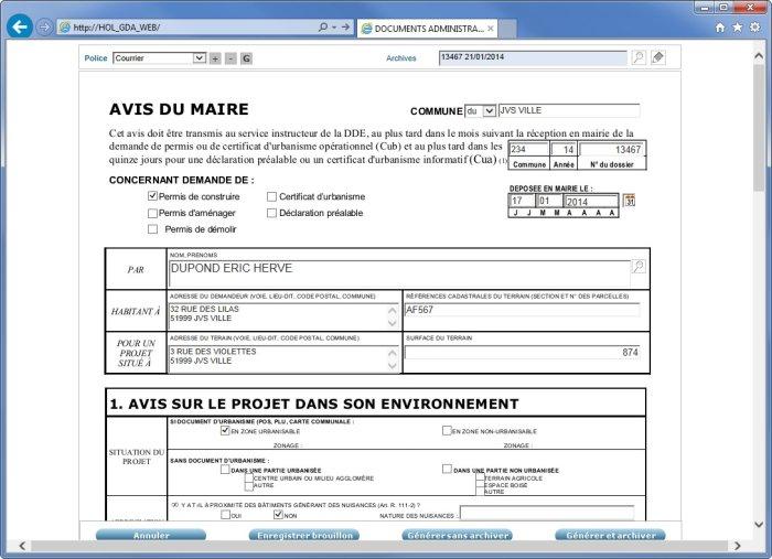 Formulaires administratifs - Galerie 2