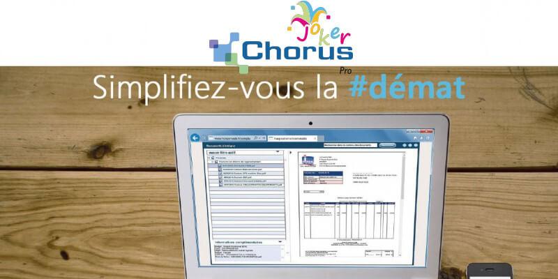 Simplifiez-vous la facturation électronique avec le Joker Chorus Pro