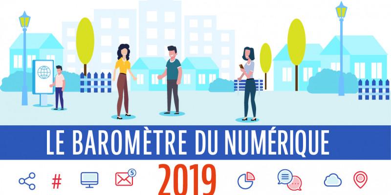 Baromètre du Numérique : quel rôle jouent les mairies dans l'utilisation du numérique ?