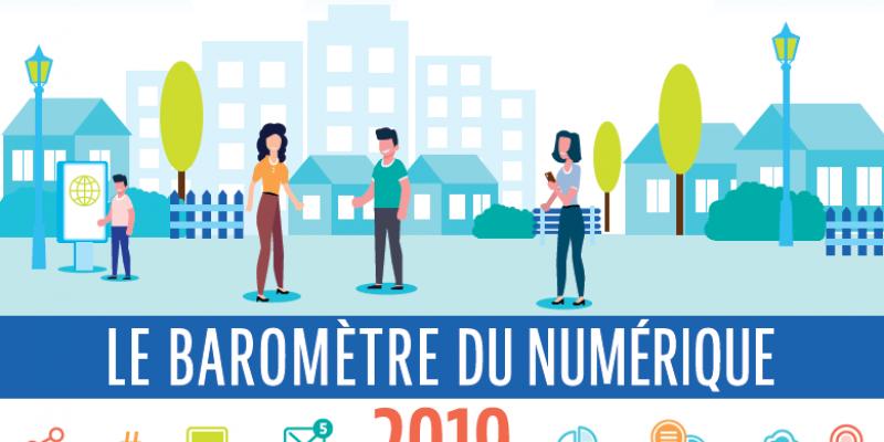 Baromètre du Numérique 2019 : les collectivités ancrées plus que jamais dans le digital !